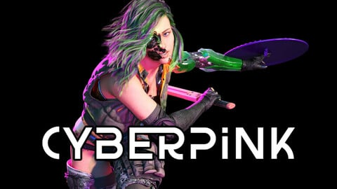 Bundle of Pickle Pie, Cherry Pie and Other Cyberpink Stories (eBooks and 3D Artwork)