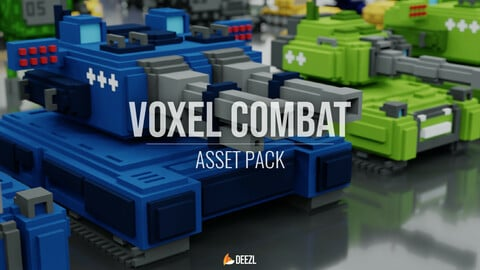 Voxel Combat Vehicles