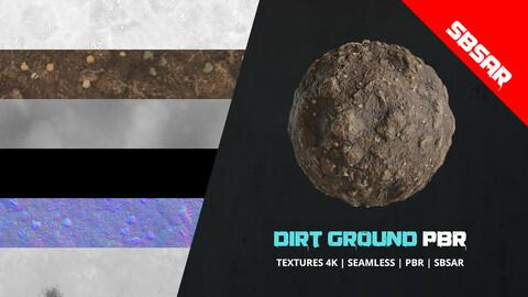 Textures Pbr Dirt Terrain + Sbsar