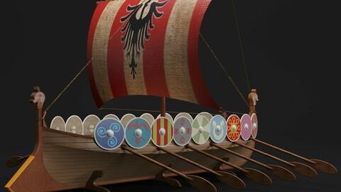 Viking boat D01