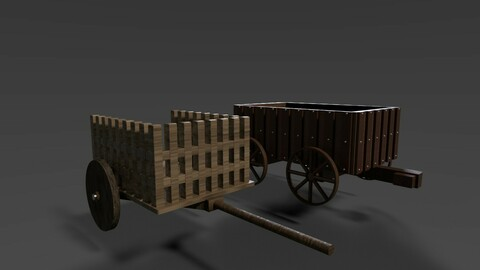 medieval wagons