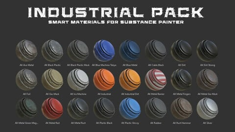 Industrial Smart Materials Pack
