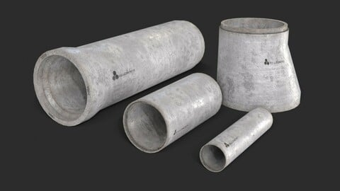 Concrete Pipe Set