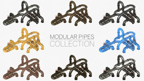 Pipes Modular Kit Collection