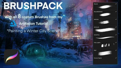BRUSHPACK - from Winter Scene tutorial
