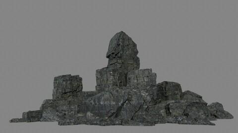 cliff rock set