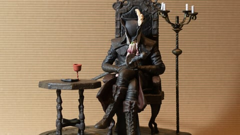 Lady Maria (BloodBorne) STL done for 3D Printer
