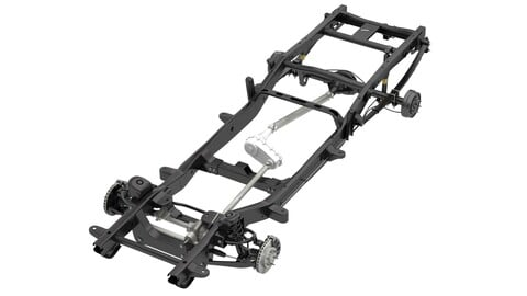 PICKUP TRUCK CHASSIS 4WD IFS