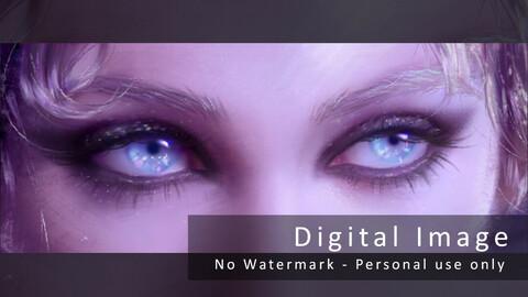 Gossip Eyes digital image