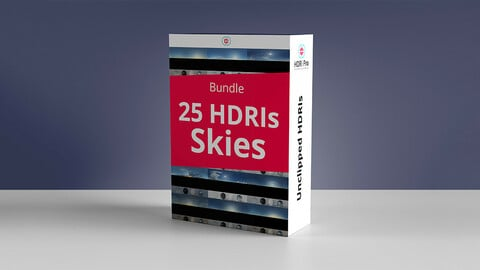 25 Hdris Skies Bundle - Pack