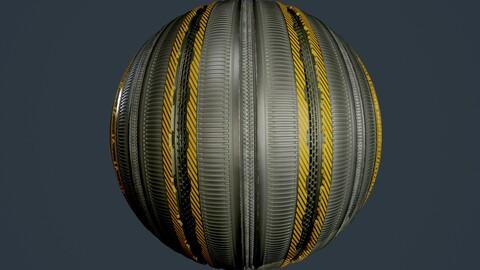 Sci-Fi Military Seamless PBR Texture 84