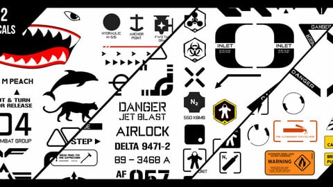 Kenzor's Aerospace Decals vol 2
