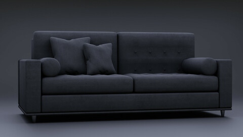 Modern Couch (Game Ready Prop)