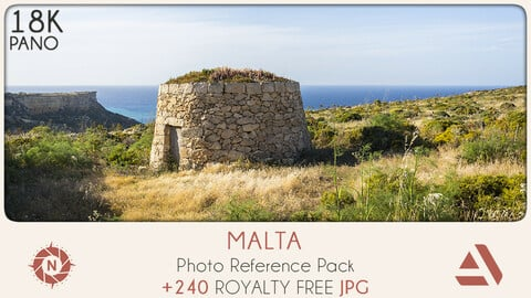 Photo Reference Pack: Malta