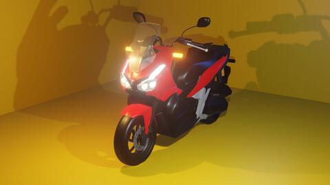 Honda ADV 3D Model