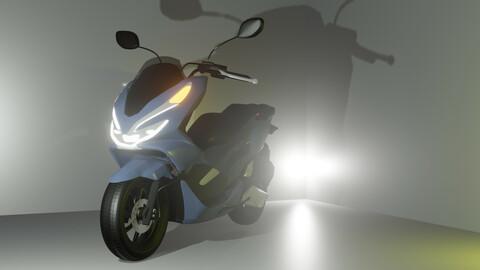 Honda PCX 3D Model
