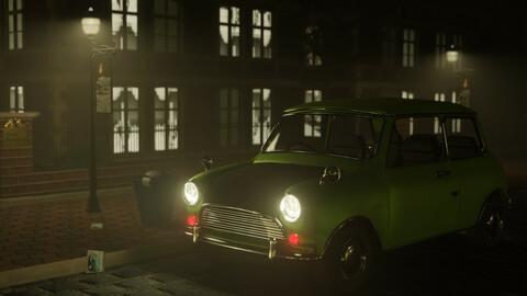 Mr. Bean's Car (Leyland mini 1000)