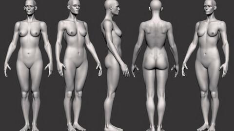 Zbrush Female Figure