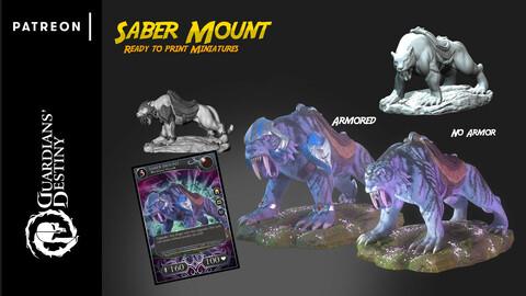 3D Print - Saber Mount