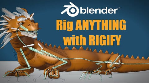 Rig Anything With Rigify - Auto Rigging in Blender