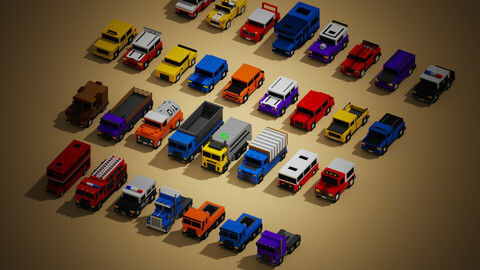 Mega car pack