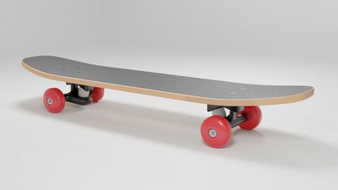 Wooden Skateboard