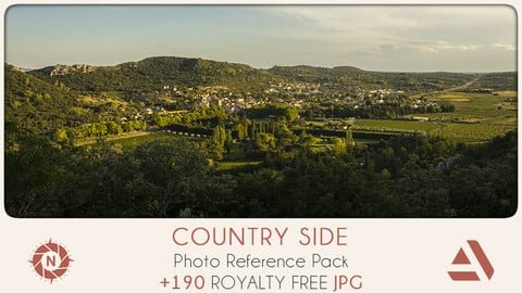Photo Reference Pack: Country Side