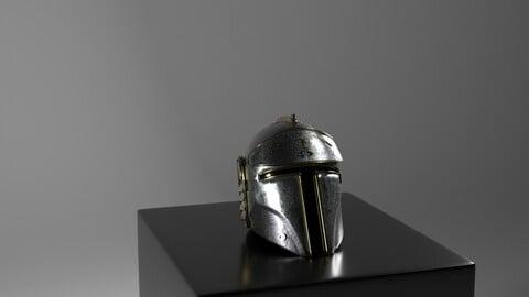 Romandalorian Helmet