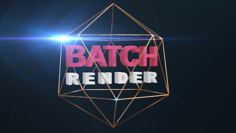 Batch Render - Blender Addon