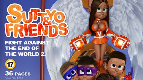 Suttyo and Friends 2. - Fight against the end of the World 2.