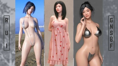 Rui Tachibana For Genesis 8 Female (Japanese Girls)