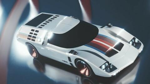Mazda Rx500 concept car 1970