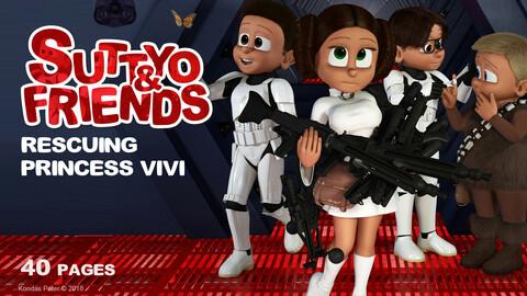 Suttyo and Friends 3. - Rescuing princess Vivi