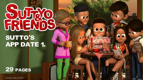 Suttyo and Friends 4. - Sutto's APP date 1.