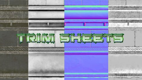 Trim Sheets - Game Ready