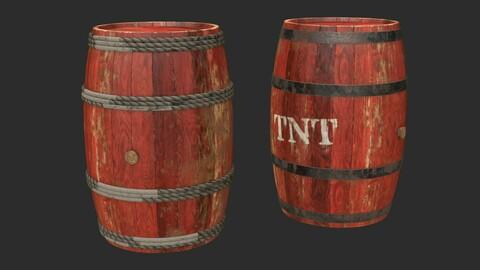 Wooden Barrels Assets 1