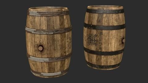 Wooden Barrels Assets 2