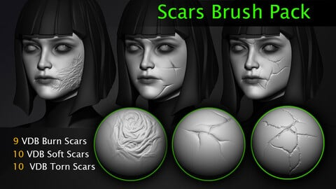 Scars Brush Pack