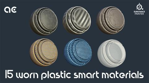 Worn Plastic Smart Materials Collection | 15 Smart Materials
