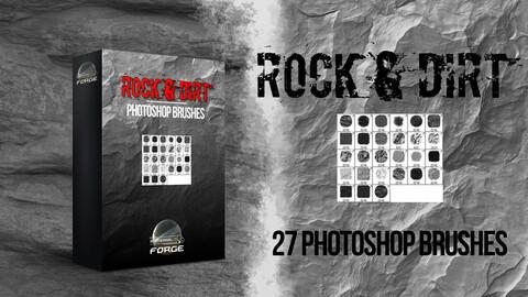 Rock & Dirt Photoshop Brushes