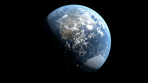 Advanced Procedural Planet Generator With Texture Map Generation + 20 Different Biome Shaders - Blender 2.91