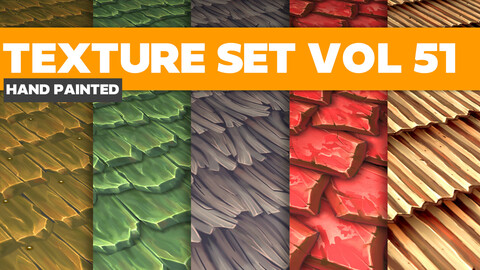 Roof Vol.51 - PBR Textures