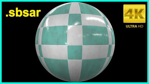 Tile Sbsar Material /Substance Painter / Tile 06