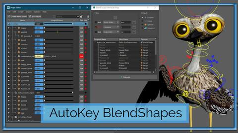 Auto Map BlendShape Attributes to Set-Driven-Keys