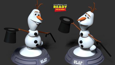 Magician Olaf