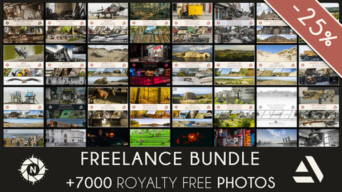 FREELANCE BUNDLE: All of my Reference Photos + Free updates at 25% OFF (Save 129$)