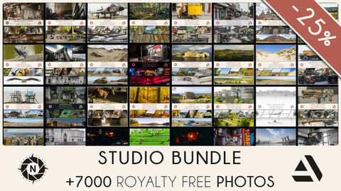 STUDIO BUNDLE: All of my Reference Photos + Free updates at 25% OFF (Save 320$)