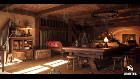 Fantasy Interior Environment