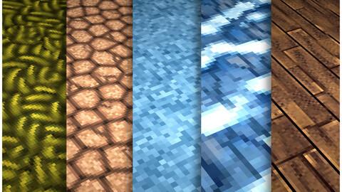 Pixel Vol.102 - PBR Textures