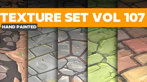 Stylized Textures Vol.107 - PBR Textures
